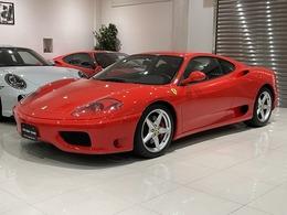 フェラーリ 360モデナ F1 正規ディーラー車 チャレンジグリル