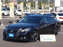トヨタ クラウンアスリート ハイブリッド 2.5 S ブラックスタイル 特別仕様車専用テラロッサ本革・サンルーフ