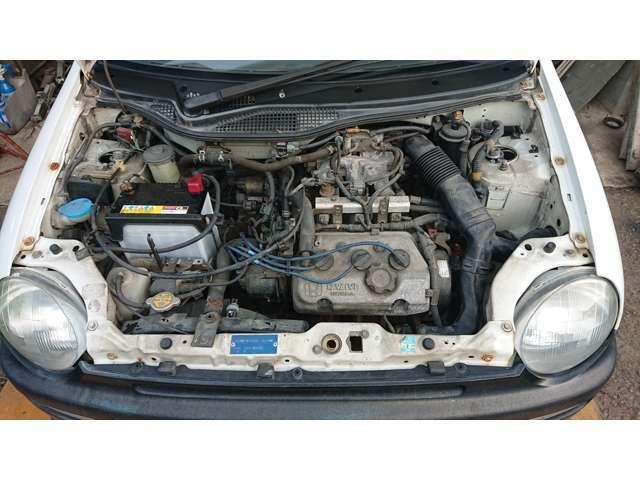 エンジン本体CPUはノーマル状態です
