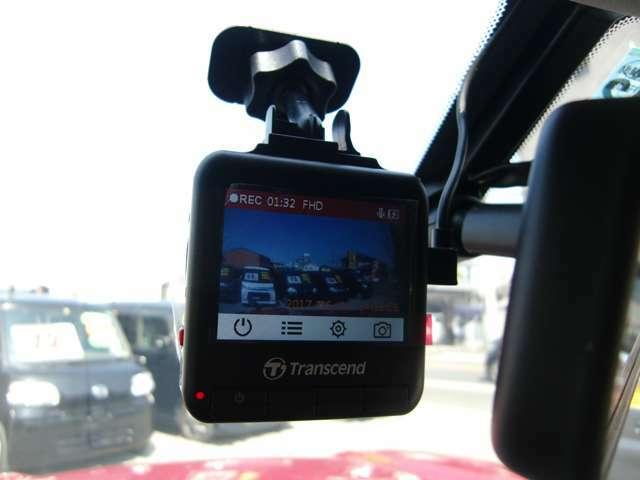Aプラン画像:もしもの事故でもしっかり記録してくれる安心のドライブレコーダー!!300万画素で画像がキレイです!停車時の衝撃感知録画のGセンサー登載機種!