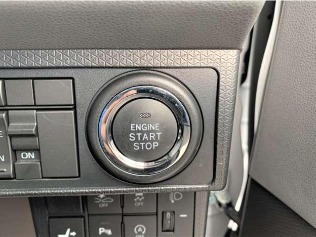 エンジンの始動をスイッチで行えるプッシュスタート機能もX専用です!