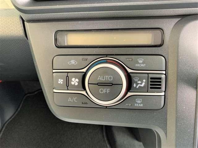 Xはエアコンがオートエアコンとなります!ダイヤルではなくスイッチ操作のなので操作ラクラクですね!