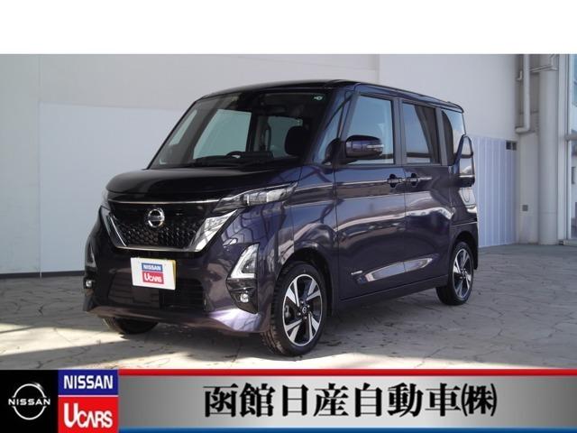 ☆試乗車UP車☆日産の軽自動車「ルークス」車内も広々しています!