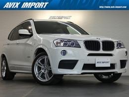 BMW X3 xドライブ20i Mスポーツパッケージ 4WD 黒半革 純正ナビ&トップビュー 19AW 1オナ