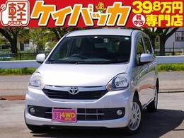 トヨタ ピクシスエポック 660 Xf 4WD 社外メモリナビ 社外14インチアルミ