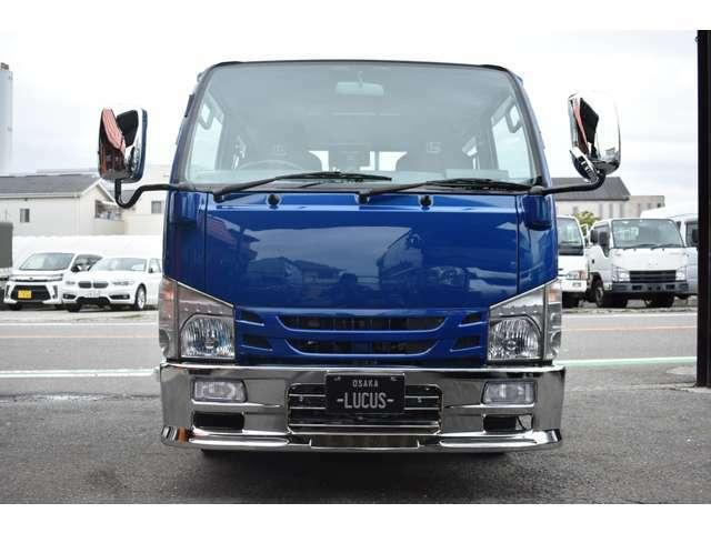■自社工場でのオリジナルブルーメタリック■自社で調色したので同じカラーのトラックは存在しません■