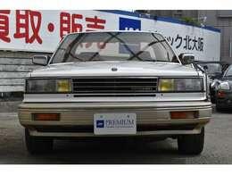 フルオリジナルコンディションのブルーバードマキシマの入庫です!4ドアハードトップのV6ターボルグラン!コンディション良好です!