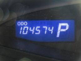 走行距離はおよそ105,000kmです。