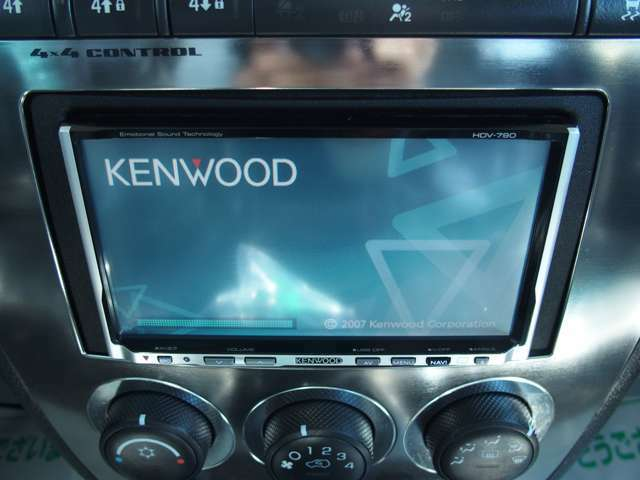 KenwoodHDDナビ付で快適ドライブOK