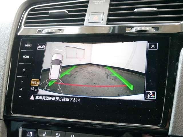 電動格納式ガイドライン付バックカメラ(Rear Assist) オプティカルパーキングシステム(警告音/前後パークディスタンスコントロール/グラフィック表示)