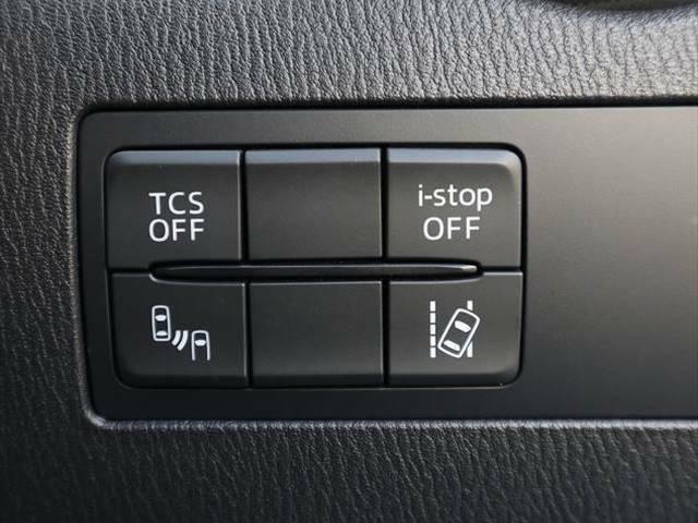 TRC(トラクションコントロール)やアイドリングストップに加え、レーンキープ・アシスト・システム(LAS)&車線逸脱警報システムなどのON/OFFスイッチが備わっております。