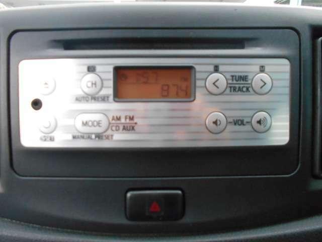 純正CD/ラジオ