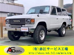 トヨタ ランドクルーザー60 4.2 観音扉 4WD 3インチリフトアップ ヒッチメンバー