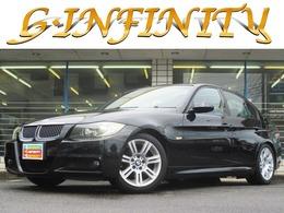 BMW 3シリーズ 320i Mスポーツパッケージ /専エアロ+17AW+ロ-ダウン/電シ-ト/HID/ETC