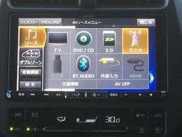 ☆社外(アルパイン BIG-X)9インチメモリナビCD DVD/DTV/SD/AUX/VTR/BT/AM FM☆社外ドライブレコーダー