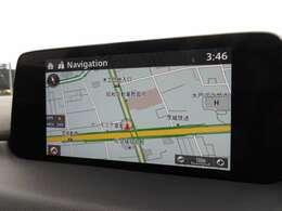 ★マツダコネクト★ハンズフリー通話、ナビゲーションなどの機能を搭載!!走行中でも、コマンダーコントロールや音声認識機能で安全に操作でき、停車中には7インチセンターディスプレイのタッチパネルで操作可能♪