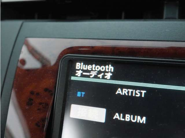「Bluetooth機能」 お手持ちのスマホに保存した音楽を再生できます♪もちろん地デジTVも見られます☆