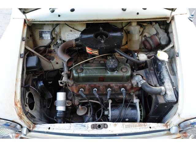 1.0L OHVエンジン(OH済)