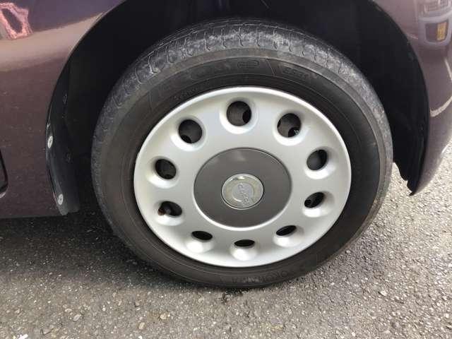 タイヤ・ホイールも問題ありません