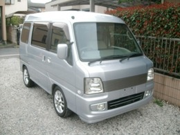 スバル サンバーディアスワゴン 660 ナビ付