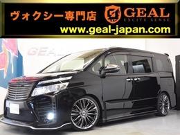 トヨタ ヴォクシー 2.0 ZS 煌 GLANZEN鎧コンプ新品RAYS19AW車高調9型ナビ
