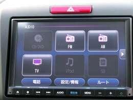 音楽ソースは、フルセグTV、Bluetooth AUDIO、IPhone、AM・FM、SDカードに対応します!