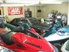 店内には水上オートバイも多数展示しています!!