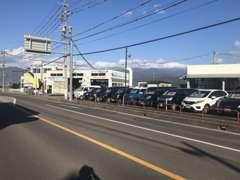 中野市から小布施町に向かう国道403号の矢島信号前!