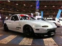 大阪オートメッセや各種イベントにも参加しております!カスタムCAR製作しますよ!