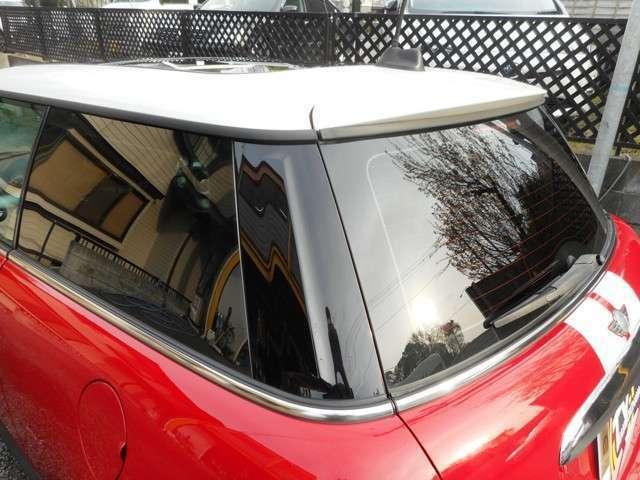 ◆リア3面はスモークガラスが貼ってあり外から見えづらくなっています!♪