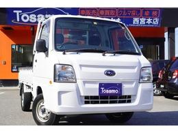スバル サンバートラック 660 TC スーパーチャージャー 三方開 4WD 5速MT/キーレス/純正CDオーディオ