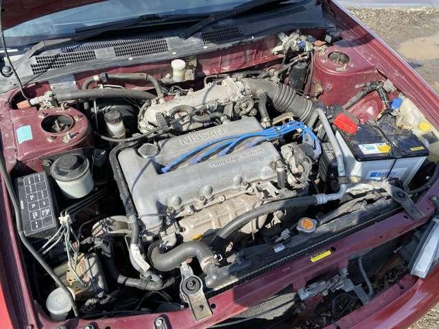 希少で人気のSR20エンジン!キレイです!