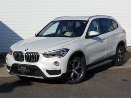 BMW X1 sドライブ 18i xライン 18AW白革PDCETC1オナ禁煙認定車