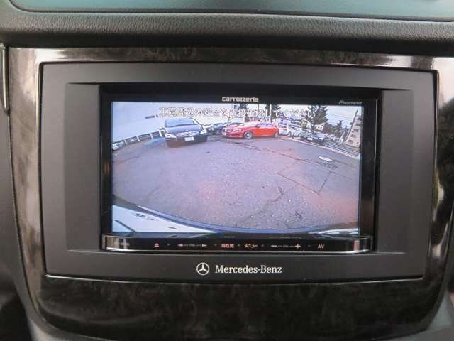 車庫入れも楽々!便利なバックカメラ装備しています!