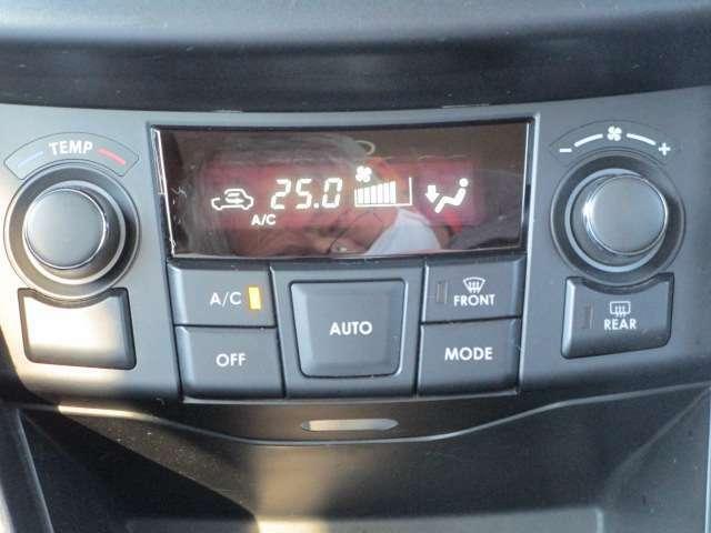 フルオートエアコンで車内は何時も快適です。