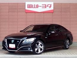 トヨタ クラウン ハイブリッド 2.5 RS アドバンス メモリ-ナビ・スマ-トキ-・LED付き