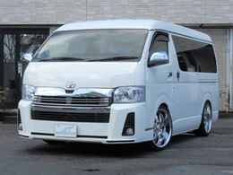 トヨタ ハイエース 2.7 DX ロング ミドルルーフ グランエース仕様 Pスラ 内装架装