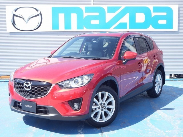 H25 マツダ CX-5 XD L package 4WD 走行距離39,000kmが入庫しました!