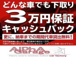 今だけ下取り保証 大切にお乗りのご愛車ゼロにはしません。最低3万円にて買取いたします。