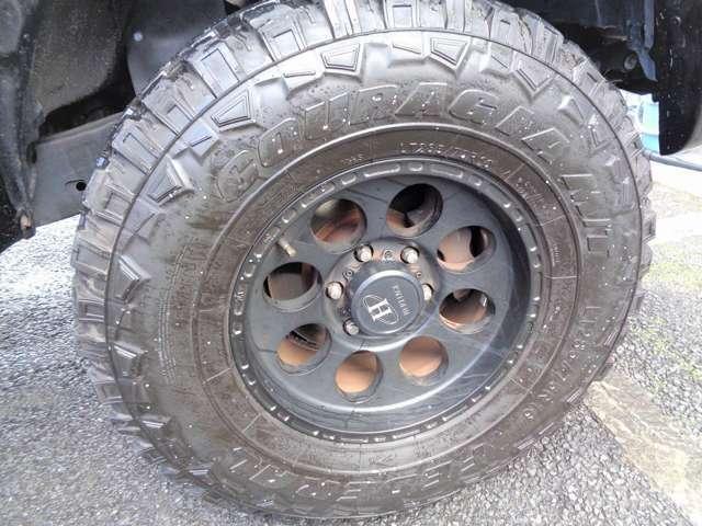 社外アルミ!タイヤも充分にあります^^