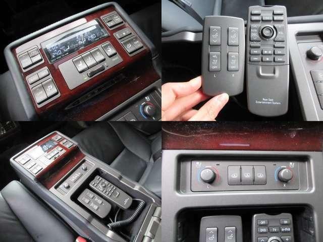 後席専用エアコン/シートコンディション/オーディオコントローラー付☆マッサージ機能も完備しております♪