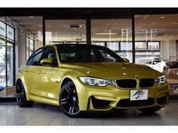 BMW M3セダン M DCT ドライブロジック 1年保証・Mアダプティブサスペンション