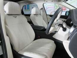 ★シートはベントレーの本拠地・英国クルーでハンドクラフトされています。フロントシートはヒーター&ベンチレーター機能に加え、マッサージ機能も装備されています★