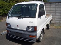 三菱 ミニキャブトラック 660 Vタイプ 三方開 4WD 車検整備付 自社保証付き 4WD