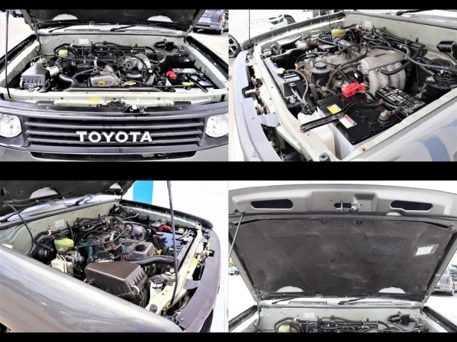 2700ccガソリンエンジンでタイミングチェーンモデル!