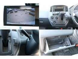 常時バックカメラ CD USB端子 ETC 切り替え4WD キーレス