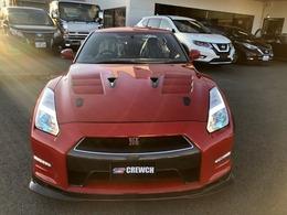 日産 GT-R 3.8 ブラックエディション 4WD ハーフレザー