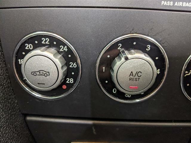 エアコンはダイヤル式となっていますので、細かい温度調節が可能です!