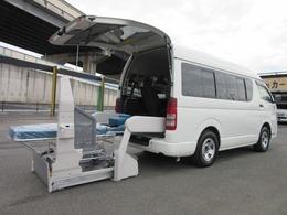 トヨタ ハイエースバン 2.0 ウェルキャブ Bタイプ ロング 福祉車両 車イス2台 ストレッチャー本体