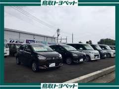 人気の軽自動車多数、展示しております!お客様にベストな一台をご提案させていただきます!